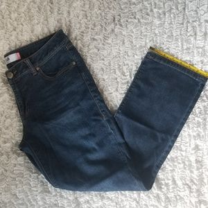CAbi new crop jeans size 8